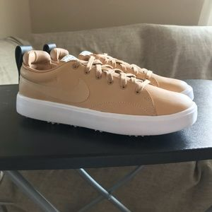 NEW Nike NGC Course Classic Tan Golf Shoes